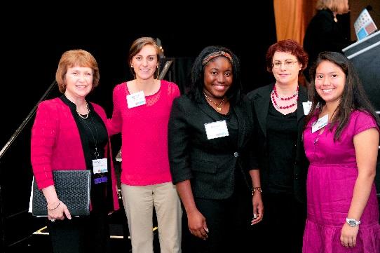 Dr. Mary Lou Frank, Audrey Owens, Mashae Pitt, Susan Ahern, Ariel Santillan